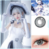 Eye Circle Lens Floweriness Grey prescription colored contact lenses-Eyemi