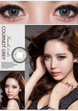 Eye Circle Lens Glow Grey prescription colored contact lenses-Eyemi