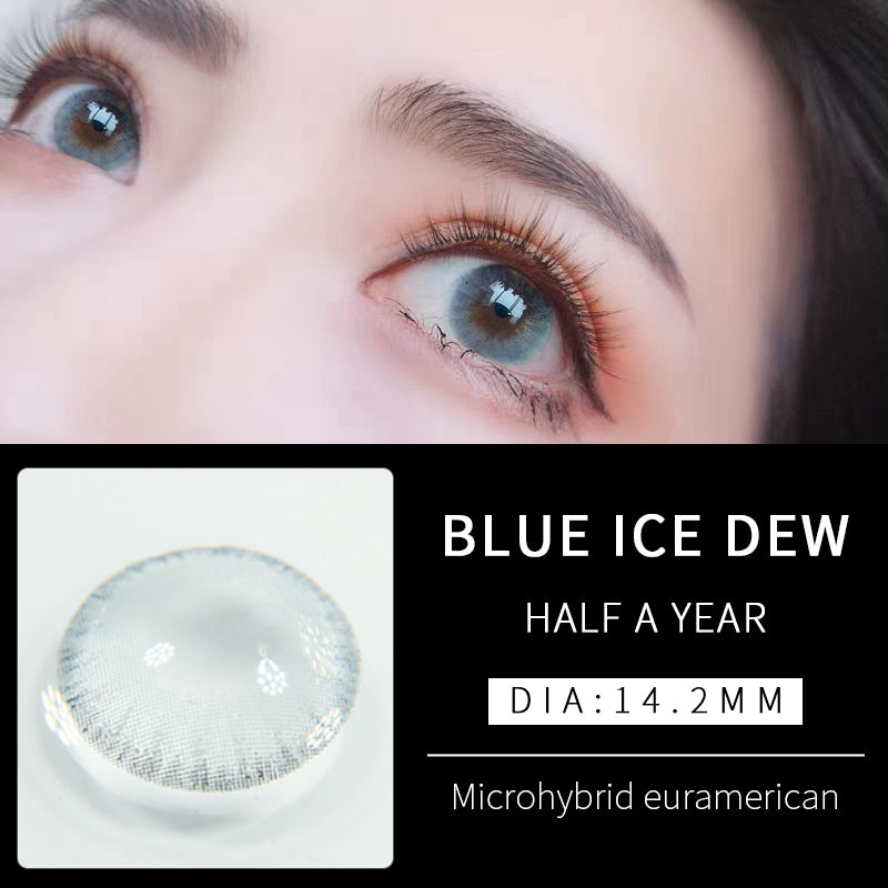 Eye Circle Lens Ice Blue prescription colored contact lenses-Eyemi