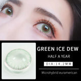 Eye Circle Lens Ice Green prescription colored contact lenses-Eyemi