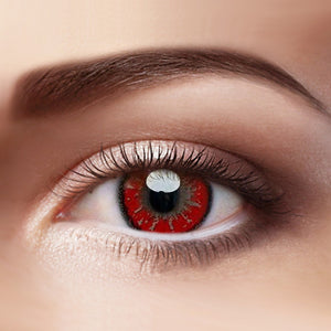 Eye Circle Lens Akashi Seijuro Red Hazel prescription colored contact lenses-Eyemi