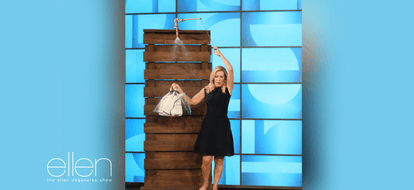 Handbag Raincoat is Featured on Ellen!