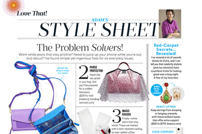 Featured in Oprah Magazine Style Sheet