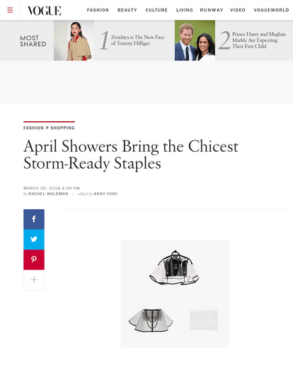 April Showers Bring the Chicest Storm-Ready Staples