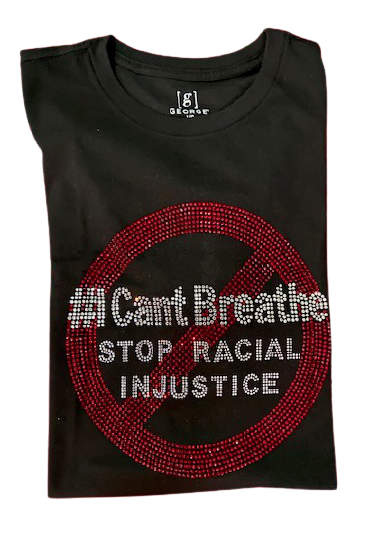 #I cant breathe Bling T-Shirt