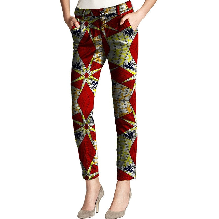 Ankara & Dutch Women Print Pants
