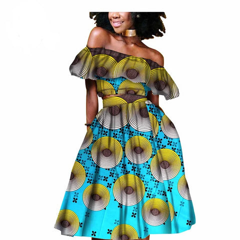 Sunflower Print Tank Dress