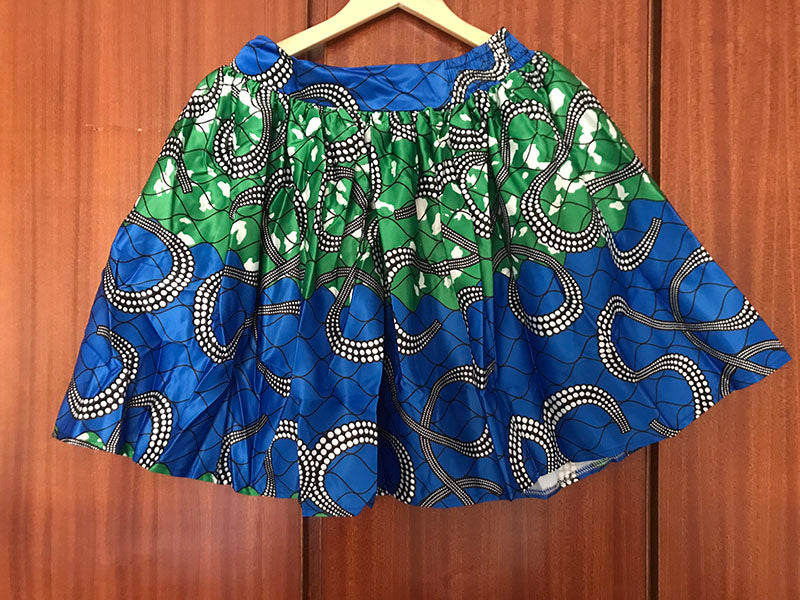 High Waist Skater Flare Skirt (Stretch)