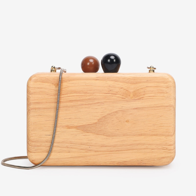 Wooden Hand Banquet Bag