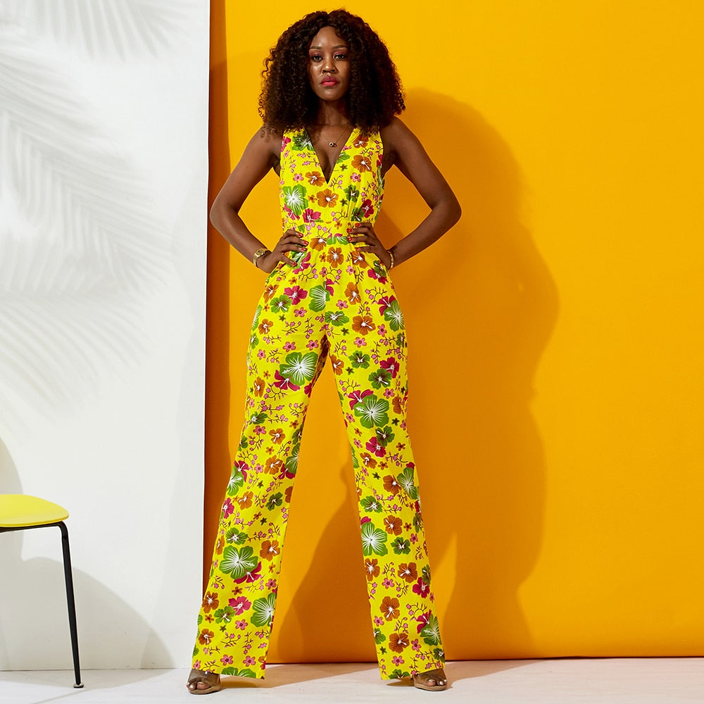 African 2019 Jumpsuit for Women
