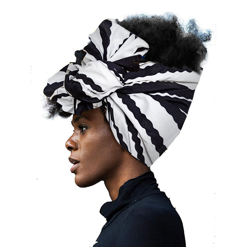 African Headwraps in Women Hair