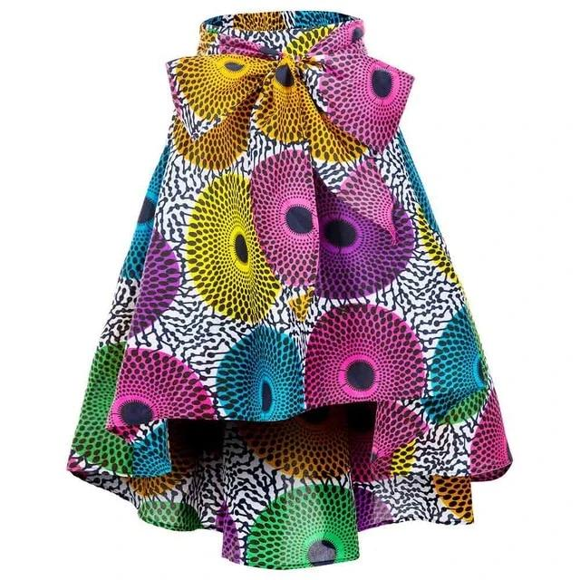High/ Low Ankara Print Skirts