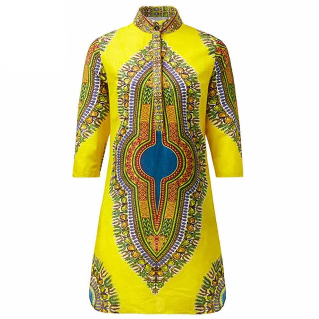 Women autumn winter dashiki coat