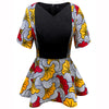 Clothes for Women Ankara Print Shirt