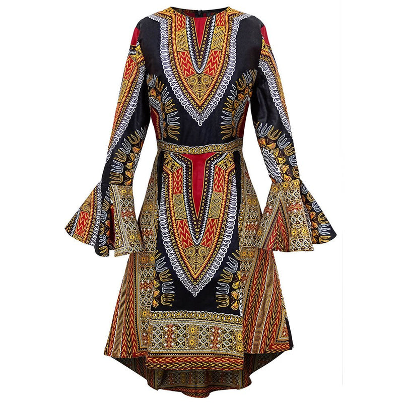 Long Sleeve Dress African Clothes