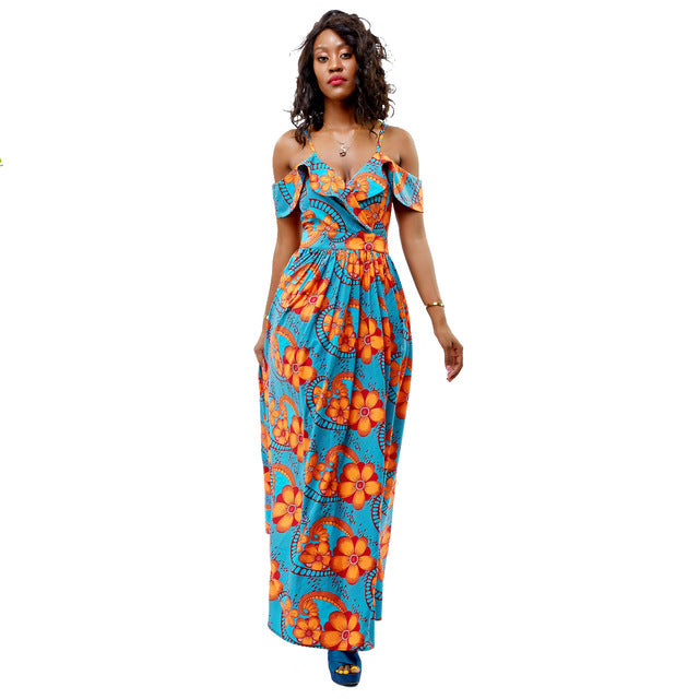 Sling Dresses African Clothing