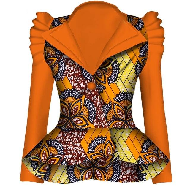 Autumn African Blazer for Women