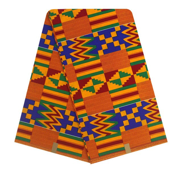 African Fabric Print Real Wax