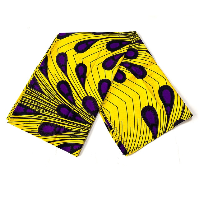 Headwrap Women Cotton Wax Fabric