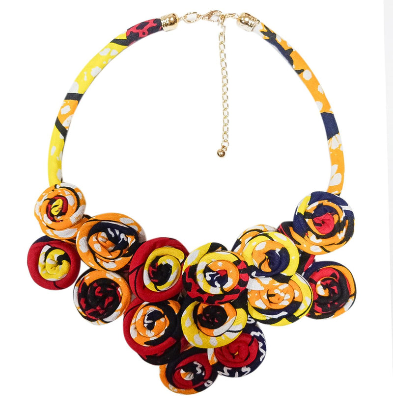 Necklace Handmade Cotton Material