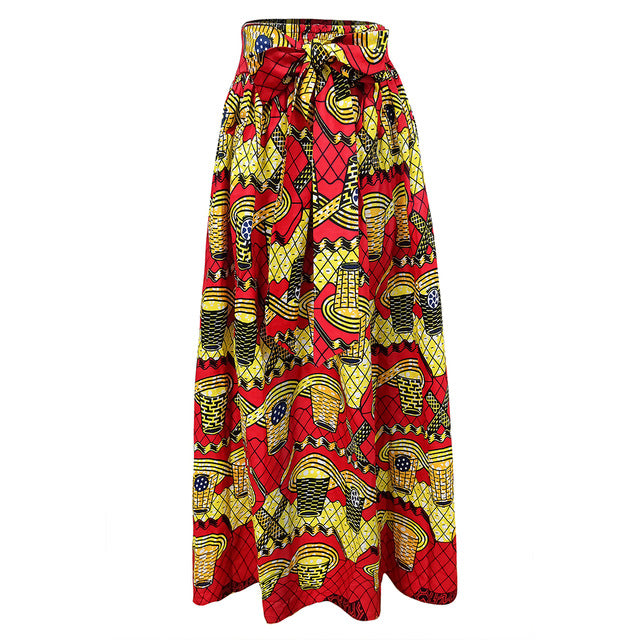 Fashion Skirt Ankara Wax