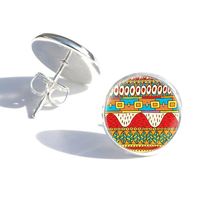 African Earrings Fashion Accessories