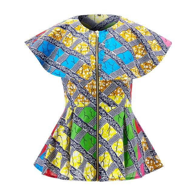 African cape top for women