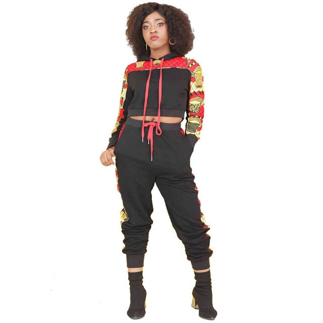 Ankara Print Sweatsuit for Woman