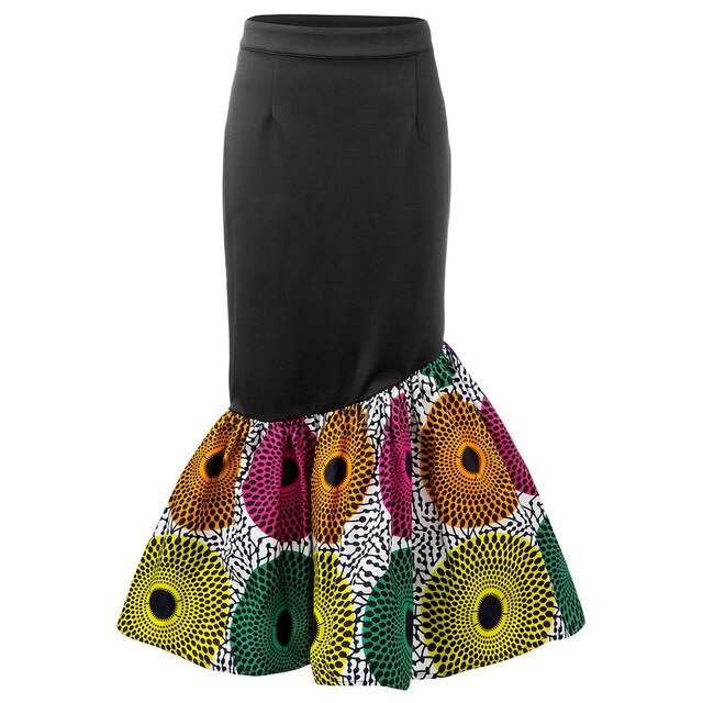 2020 New Ankara Print Skirt