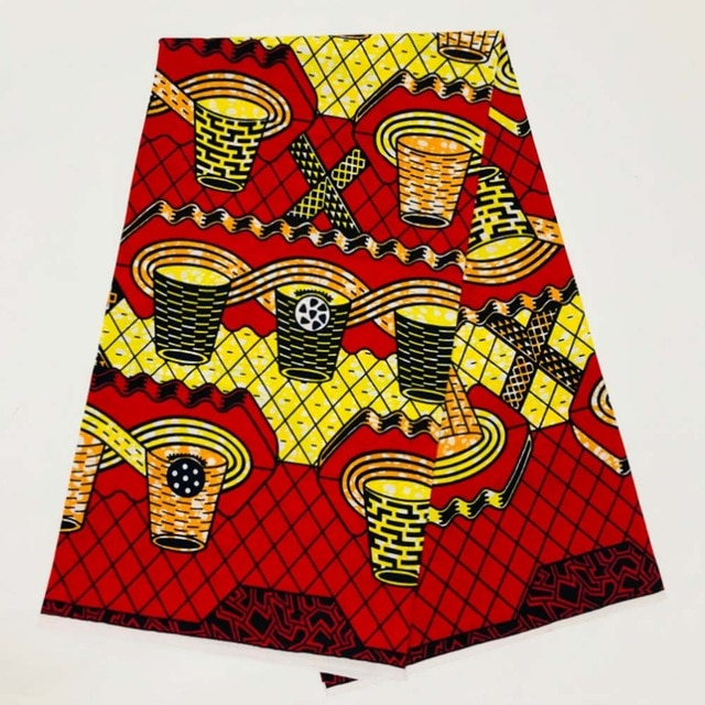 6 yards Ankara Cotton Material