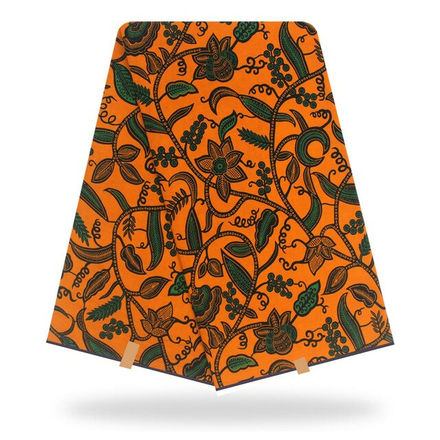 african fabric wax print real