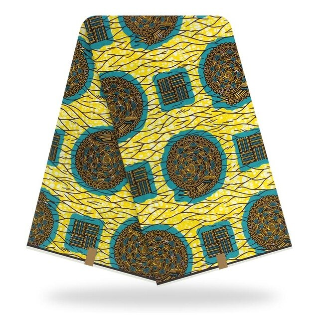 High Quality Cotton Material Ankara