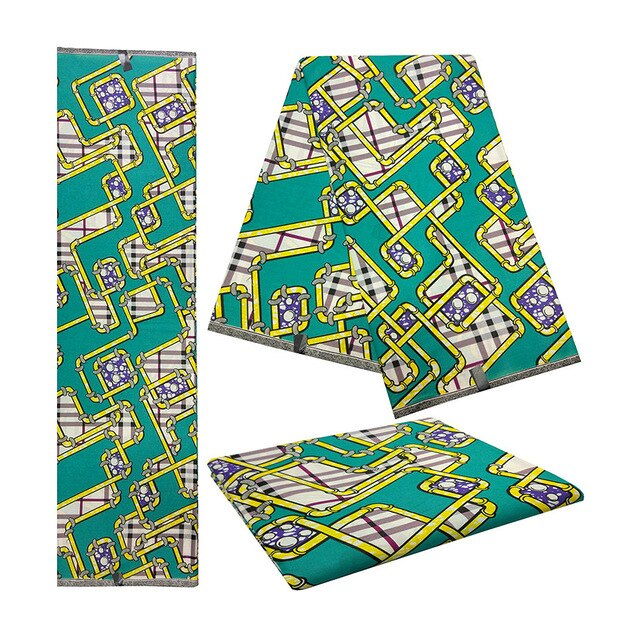 African Fabric Real Wax
