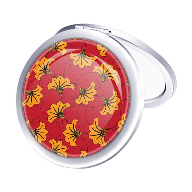 Round Mini Makeup Mirror