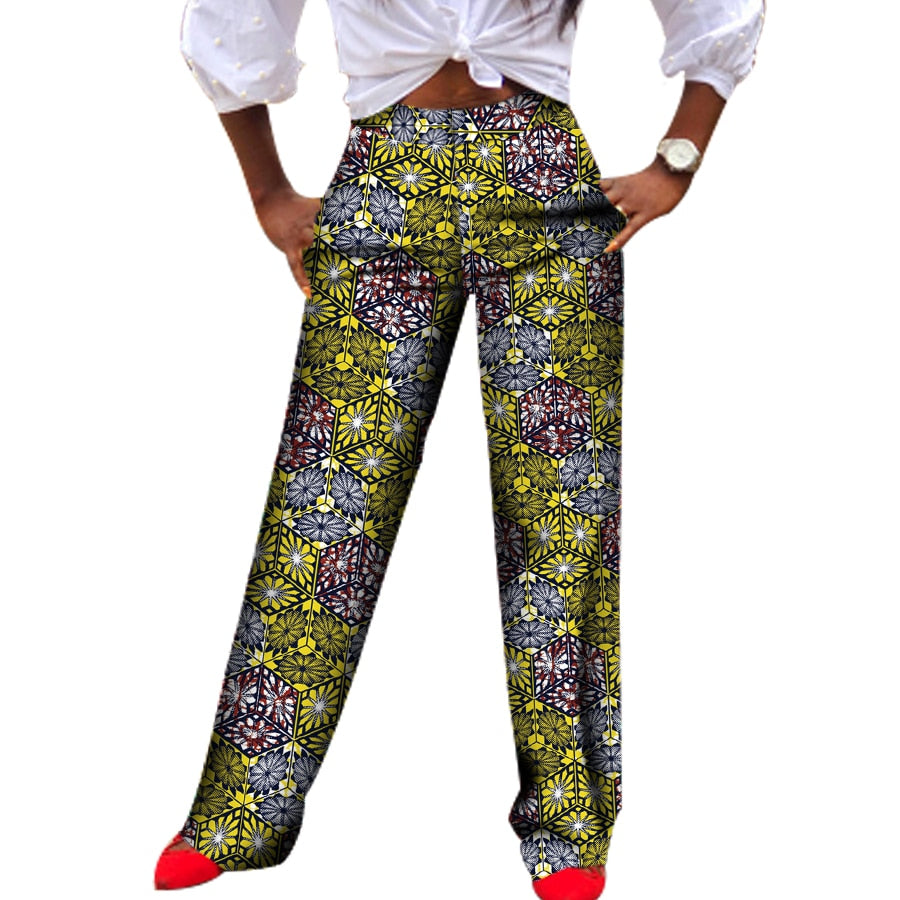 Women's Dashiki Print Pants