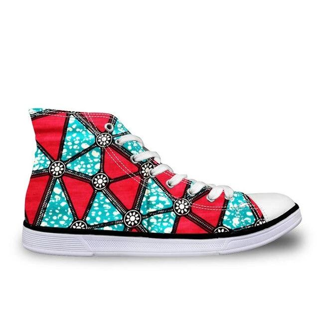 Women Vulcanize Shoes African Traditional