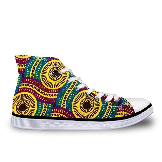 African Printing Sneakers For Man