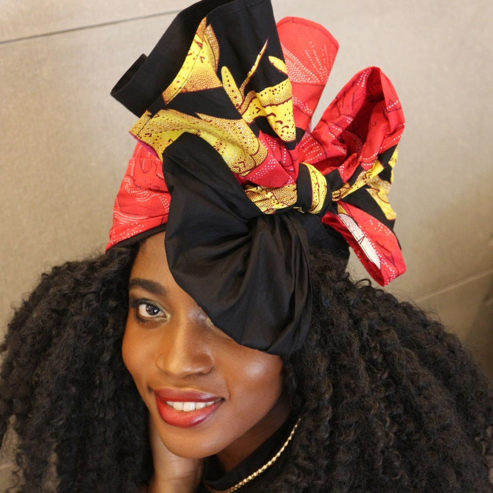 Floral Headwrap for Women