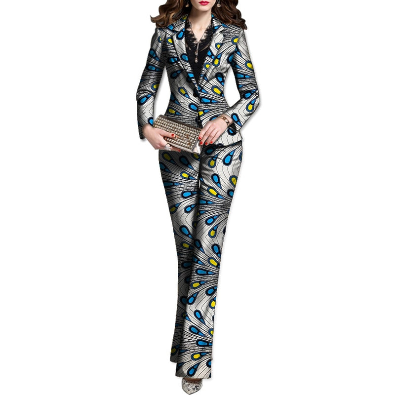 Women Blazer With Pant Suit