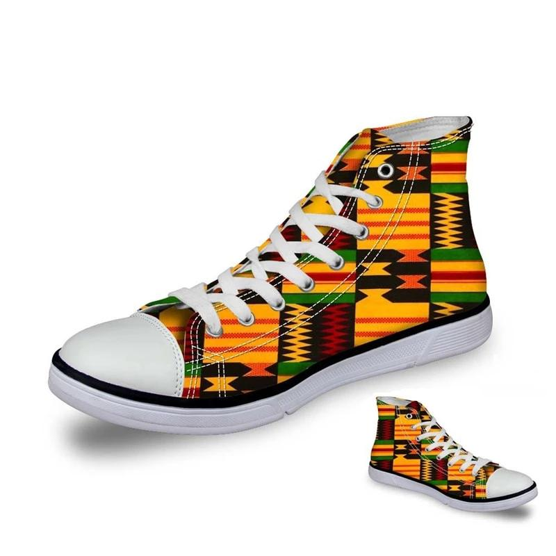 African Lace Fabric Printing Fashion Sneakers Women