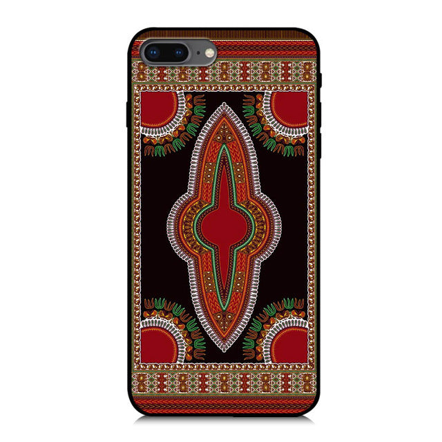 African Ankara Print iPhone Case
