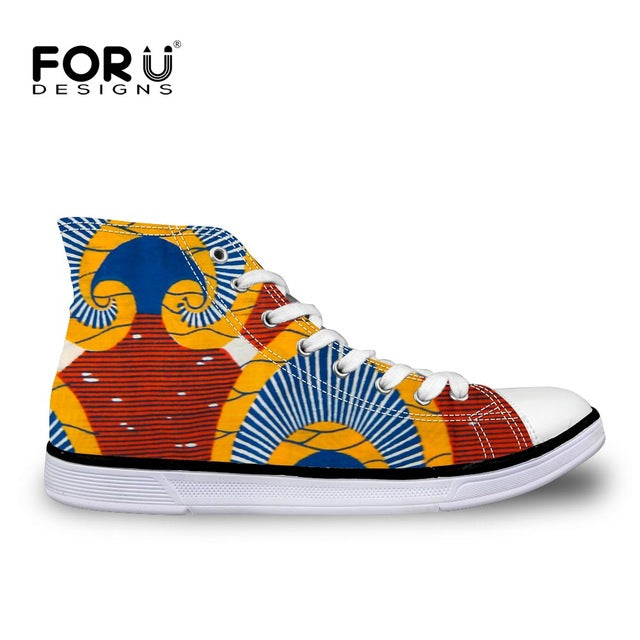 African Printed Women  Shoes 2019