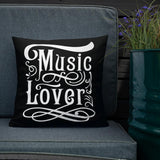 Music Lover - Premium Pillow