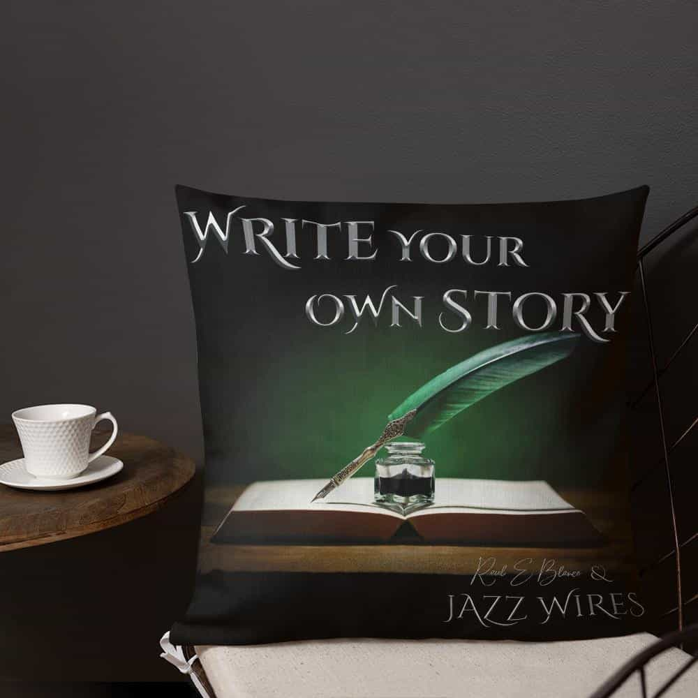 Write Your Own Story - Premium Pillow