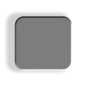 GREY 504 SOLID ACRYLIC SHEET