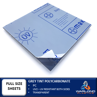 GREY TINT POLYCARBONATE SHEETS