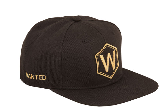 Wanted Athens Snapback Black