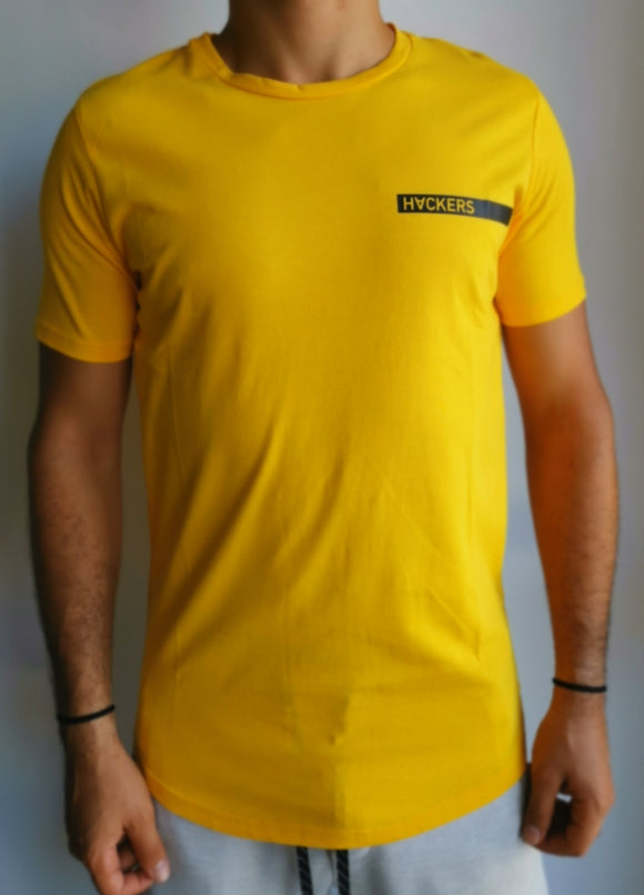 Hacker yellow tee