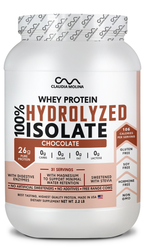 100% HYDROLYZED WHEY PROTEIN ISOLATE CHOCOLATE