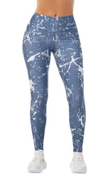 LEGGING SPLASH DE COLORES GRIS